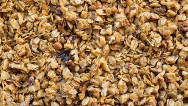 Granola is just one easy Native American recipe for kids that parents can let children of all ages participate in the preparation of.