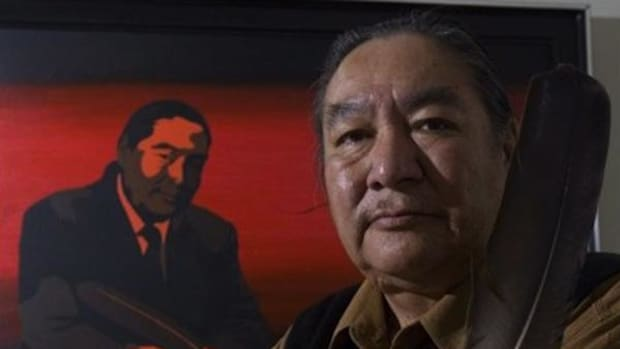 Iconic indigenous leader Elijah Harper changed Canadian history with an eagle feather.