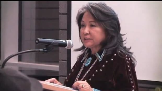 Luci Tapahonso, Navajo Nation Poet Laureate 2013