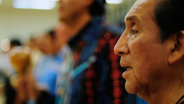 Ernest H. Siva, Cahuilla/Serrano, of the Morongo Band of Mission Indians was recently awarded the 11th Spirit of the Heard award for his work preserving Native cultures, languages, history, and the arts.