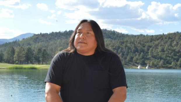 Robert Geronimo, a descendant of Geronimo, works at the Inn of the Mountain Gods, the tribe's resort and casino in Mescalero, New Mexico. He became aware of his famous ancestor when he was in kindergarten.