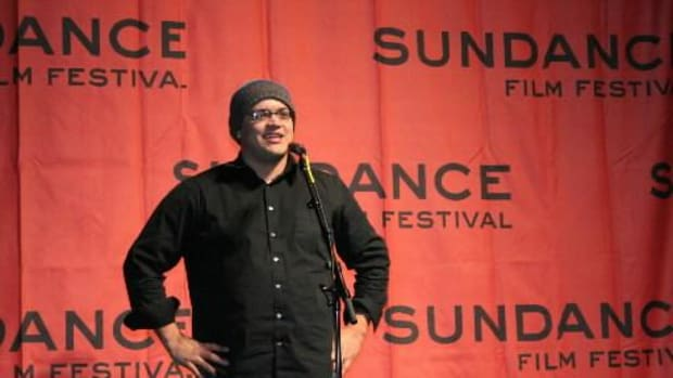 """Sterlin Harjo at Sundance in 2007. The filmmaker's latest documentary film """"This May be the Last Time"""" debuts at Sundance on Sunday, January 19, 2014 in Park City, Utah."""