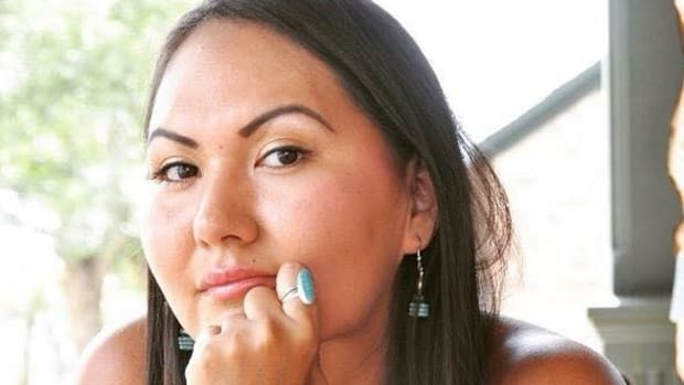 Noel Altaha, White Mountain Apache, was only 13-years-old when her mother was murdered. Now 27, she works to raise awareness of domestic violence.
