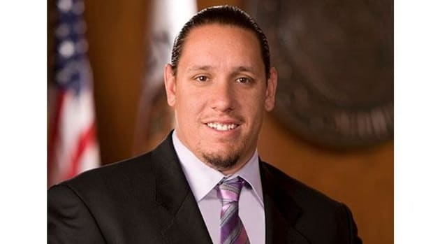 Tribal Chairman Jeff L. Grubbe, Agua Caliente Band of Cahuilla Indians.