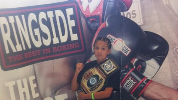 Maria 'Little Sioux' Moore, Spirit Two Lake Sioux Tribe, won her second Ringside World Tournament