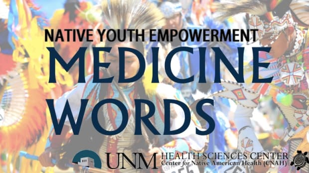 "Warrior Spirit Indigenous Psychology Conference 2016: Native Youth Encampment: the theme of the conference is ""Medicine Words."""