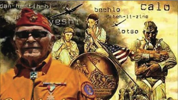 Navajo Nation President Russell Begay ordered flags across the Navajo Nation to be flown at half-staff in honor of Navajo Code Talker Bahe Ketchum, who passed this morning in Flagstaff, Arizona.