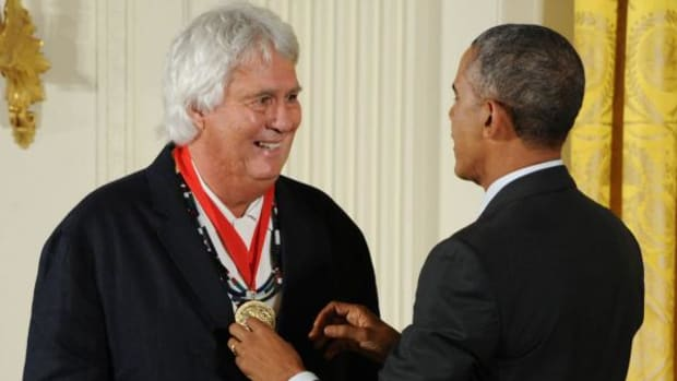 Johnpaul Jones, an architect of Choctaw and Cherokee heritage recently received the National Humanities Medal which was presented by President Barack Obama.