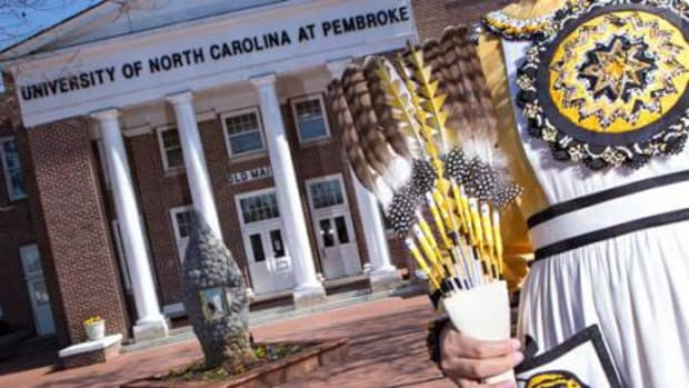 Lawrence T. Locklear is the new project coordinator for University of North Carolina Pembroke's Southeast American Indian Studies Program.