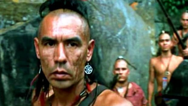 """Wes Studi as Magua in """"Last of the Mohicans."""""""