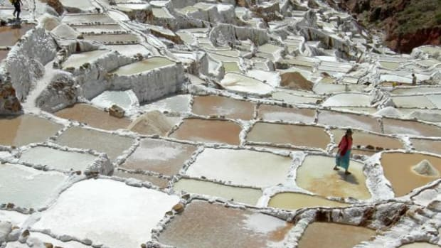 When most people think of the Incas, they think Machu Picchu, but there is much more to see in what is known as the Sacred Valley. The Inca carved thousands of small salt ponds, Salinas de Maras, or Inca salt pans, into the Peruvian Andes—with Cusco on one end and Machu Picchu on the other. Proving salt was and is still important.