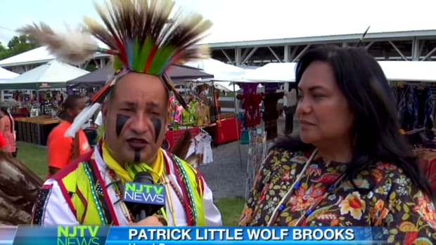 NJTV News Covers the Nanticoke Lenni-Lenape Pow Wow in 2016. YouTube Screen Capture