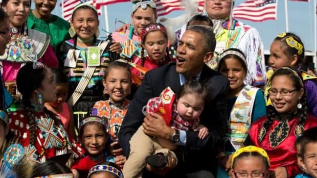 Obama at Standing Rock - Obama and Native nations have worked hard over eight years to create a special and healthy relationship during his tenure.