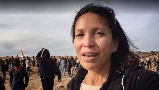 Jenni Monet, Laguna Pueblo of New Mexico, has been found not guilty of criminal trespassing and engaging in a riot, Monet is an independent journalist who has written for Indian Country Today and was arrested while covering protests of the Dakota Access Pipeline in North Dakota.