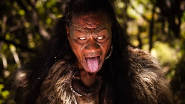 Lawrence Makoare stars as 'the Warrior' in 'The Dead Lands' movie - Courtesy Dead Lands Movie website