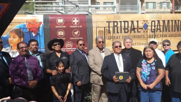 The Economic Impact of Tribal Gaming in Arizona report study was sponsored by the Arizona Indian Gaming Association (AIGA) and conducted under a contract with the  Taylor Policy Group, Inc (TPG), an independent consulting firm unaffiliated with AIGA.