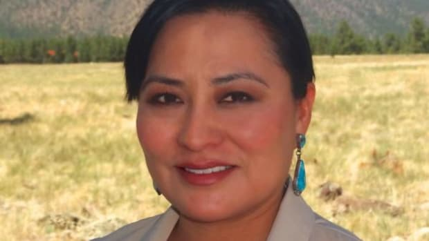 Dr. Rhiannon Gishey of Greasewoods Springs, Arizona was hired to assist with the implementation of NTU's recently accredited Bachelor of Science degree program in Early Childhood Multicultural Education and to eventually develop the program into a master's degree.