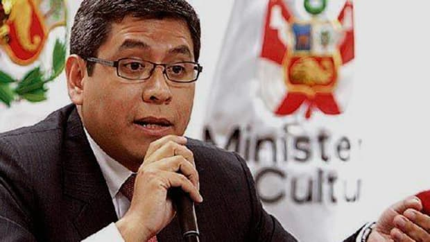 Iván Lanegra, the Ministry of Culture's vice minister for intercultural affairs, turned in his resignation on April 30.