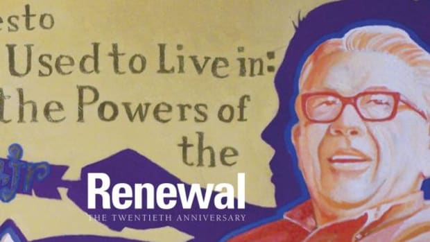 Vine Deloria Jr. graces the cover of the 20th anniversary issue focused on renewal.