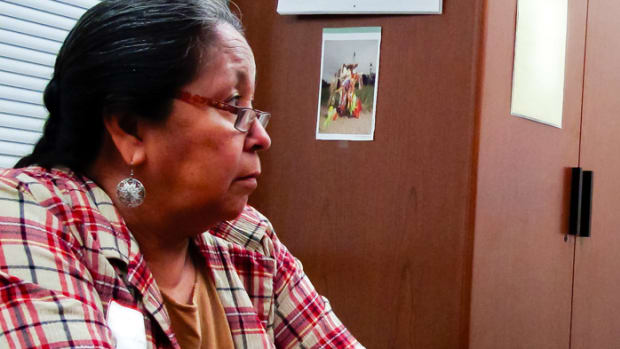 Donita Loudner, Voting Rights, Crow Creek Sioux Tribe