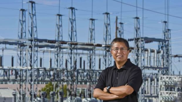 Stanley Atcitty, a principal member of Sandia National Laboratories' technical staff in New Mexico, was one of 96 researchers chosen nationally this year for the Presidential Early Career Award for Scientists and Engineers (PECASE). (Courtesy Sandia National Laboratories)