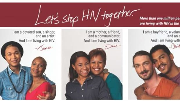 The Let's Stop HIV Together campaign was created by the CDC to combat stigma around HIV in the U.S.