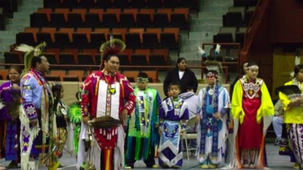 Fourth Annual Traditional Youth Powwow at the Four Directions Center in Sioux City (all photos courtesy Bob Uhl)