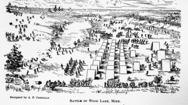 The Battle of Wood Lake site is one that received a grant from the National Park Service.