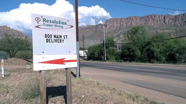 The Resolution Copper mine has been in the planning stages for years, and it could be years more before it gets all the approvals it needs, a company spokesman said. Supporters say the mine it could bring thousands of jobs to the Superior area.