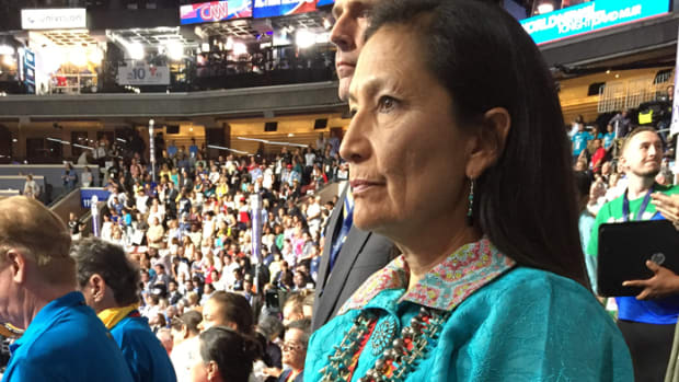 Debra Haaland runs for Congress