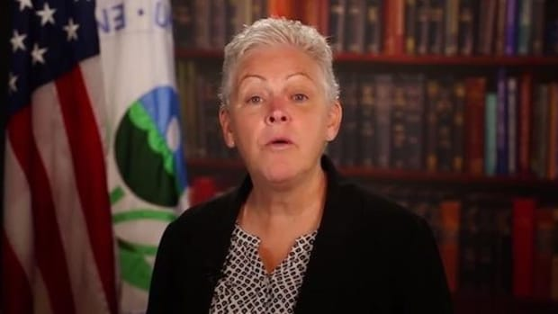 U.S. Environmental Protection Agency Administrator Gina McCarthy announcing tribal initiatives in June.