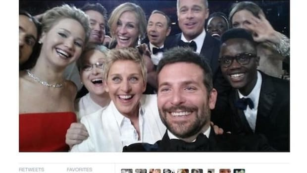 """The selfie heard round the world: Ellen DeGeneres's star-studded selfie at the Academy Awards netted a $1.5 million donation for the Humane Society of the United States, which opposes the seal hunt. Inuit have struck back with a Twitter storm of """"sealfies"""" showing members of the indigenous group sporting sealskin duds."""