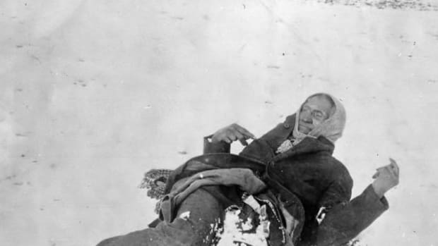 Chief Big Foot (Spotted Elk) lies lifeless in the snow near Wounded Knee Creek following the Wounded Knee Massacre on December 29, 1890. One hundred and twenty-five years following the Wounded Knee Massacre of December 29, 1890, indigenous peoples continue to heal.