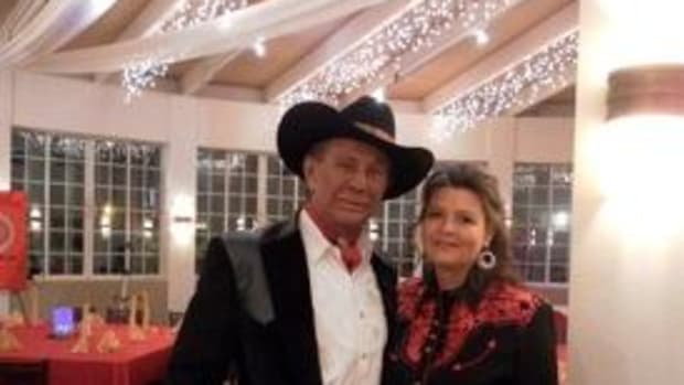 Pearl and Russell Means in 2011. (Photo Courtesy Pearl Means)