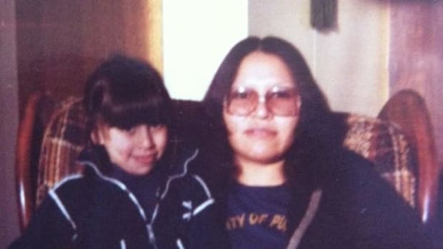 Gloria Ranger and her mother, a residential school survivor in Canada.