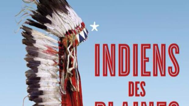 A program for a Native American exhibition at the French museum in Paris, Musée du quai Branly.