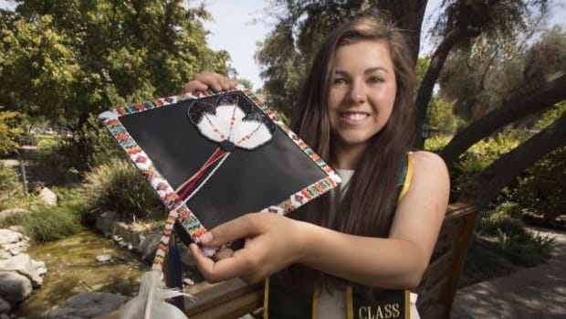 """College of Business Administration graduate Sarah De Herrera recently was selected as one of the """"25 Under 25 Native Youth Leaders."""""""