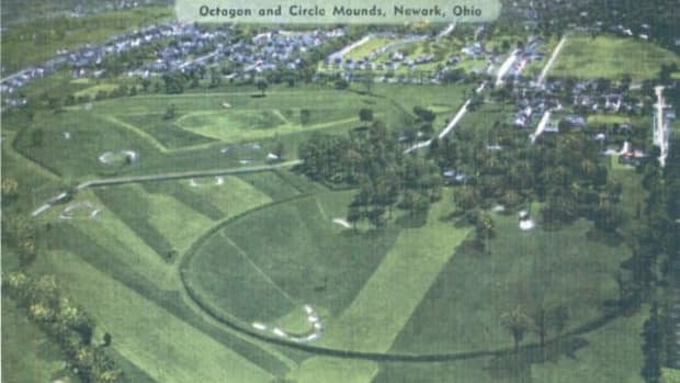 These sacred mounds are now the site of Mound Builders Country Club, a golf course.