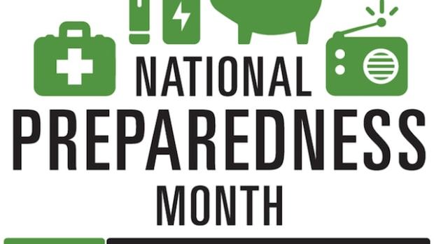 The official logo for National Preparedness Month 2017