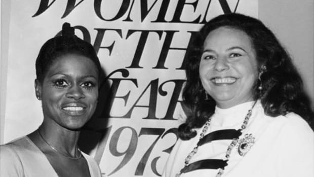Actress Cicely Tyson and LaDonna Harris were among a group honored as 'Women of the Year 1973.'