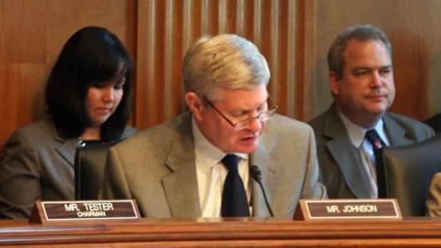 Sen. Tim Johnson's Native Languages Bill passes out of Committee