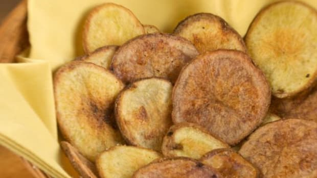 Potatoes were domesticated first in the Americas, so it is perfectly reasonable that the invention of the potato chip should be credited to an American Indian, albeit some 10,000 years later.
