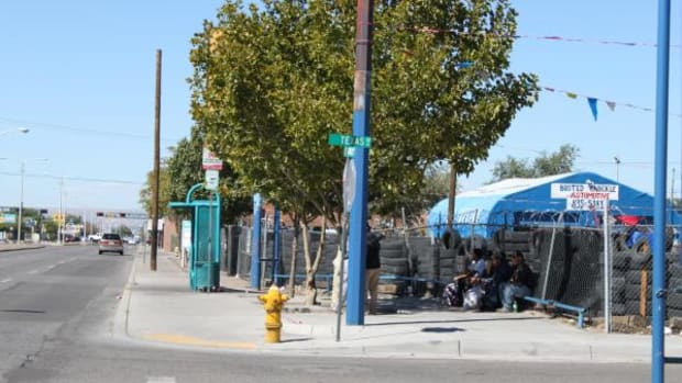 Many Natives would rather take their chances on the streets of Albuquerque instead of going to a shelter due to distrust.