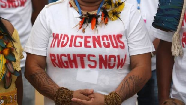 """United Nations Special Rapporteur on the Rights of Indigenous People: """"Real progress cannot be measured unless we hear directly from the world's Indigenous Peoples."""""""