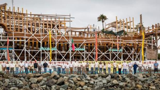 The Maritime Museum of San Diego is building a full-sized, fully functional, and historically accurate replica of Juan Rodriguez Cabrillo's flagship, San Salvador.