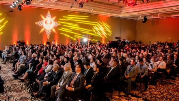 The Reservation Economic Summit aka 'RES,' brings together thousands to advance economic development for tribes and Native entrepreneurs. In 2021, the event will be held both in-person and virtual as the pandemic lingers on. (Photo courtesy of Reservation Economic Summit)