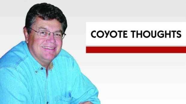 Dr. Beau Washington, a member of the Eastern Band of Cherokee Indians, writes a monthly column called Coyote Thoughts. (Courtesy Dr. Beau Washington)