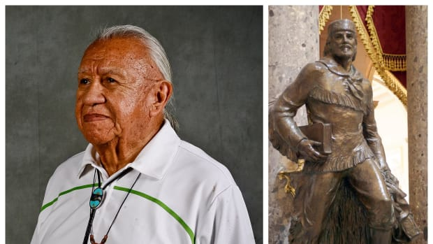 Billy Frank, Jr. deserves a place of recognition, replacing Whitman Marcus in the U.S. Capitol's Statuary Hall.