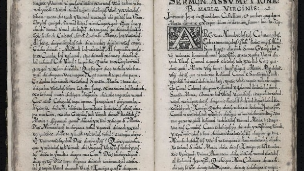 The Smithsonian has digitized one of the oldest sources of information on Mayan culture, the Libro de Sermones Varios en Lengua Quiche, created in 1690.
