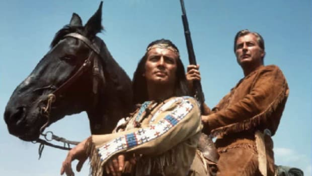 Winnetou and Old Shatterhand (AP)